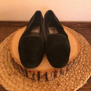 Dolce Vita black suede loafers