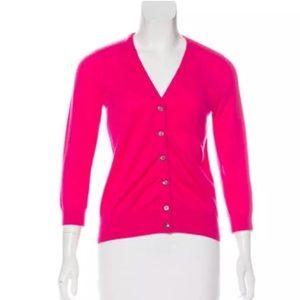 VINCE Cashmere V-Neck Cardigan Sweater Size Large