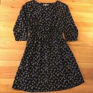 GAP Navy floral dress