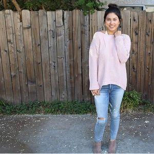 TOBI Blush Sweater