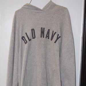 Old Navy XL Gray Fleece Hoodie