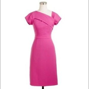 J.Cree Pink Origami Sheath Dress