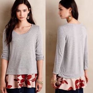 Layered Swing Tee by Little Yellow Button