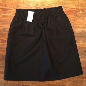Black J Crew high waist skirt