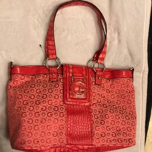 Guess mini tote bag