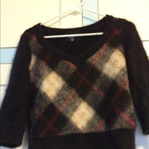 Dolce & Gabbana Plaid Sweater