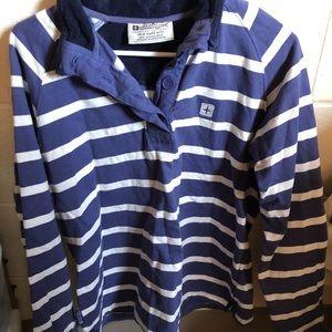 Mountain hardwear striped pullover