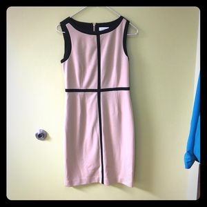 Black & Tan  Calvin Klein Dress. SZ 4