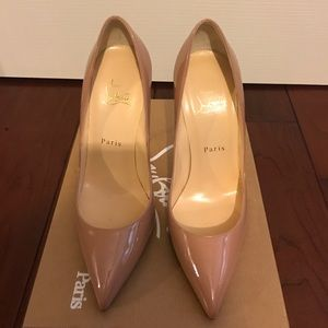 Christian Louboutin Pigalle Nude 38