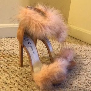 Jeffrey Campbell Fur Heels