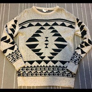 Forever 21 Aztec oversized sweater