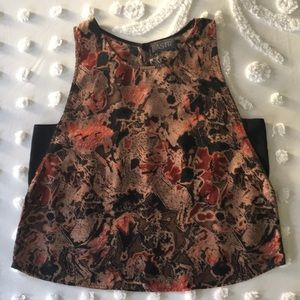 ASTR Nordstrom adorable flowy tank top L