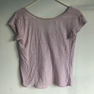 Zara Pastel Purple Top