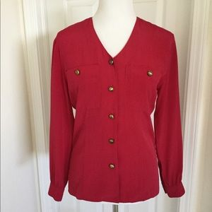 🆕 Listing Red Blouse