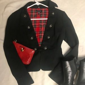 Military inspired jacket