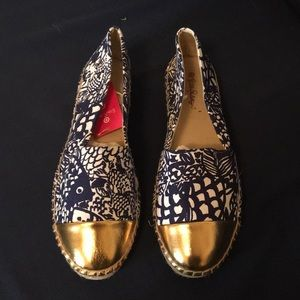 NWT Lilly for target espadrilles size 9