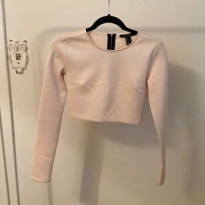 Forever 21 Blush Crop Top