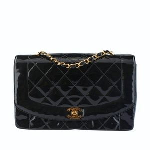 Chanel Diana Quilted Classic Shoulder Bag (130542)