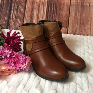 Chinese Laundry Brown Booties Sz 9