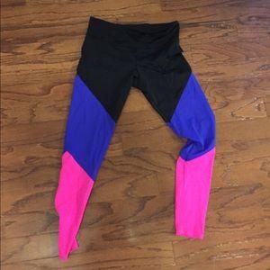 Onzie Black and multicolor leggings