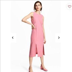 H&M Pink Sleeveless Dress Size 8 NWT