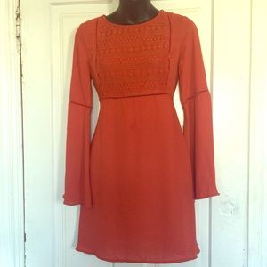 Burnt Orange H&M Dress