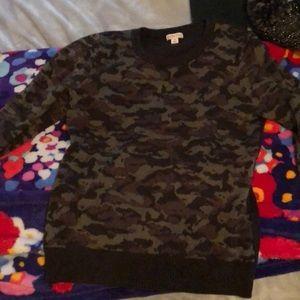 Camo Merona Sweater