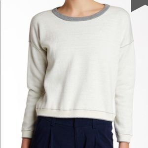 Alice + Olivia Reversible Soft Structured Sweater