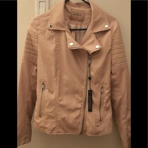 Blanknyc blush leather jacket(send me offers)