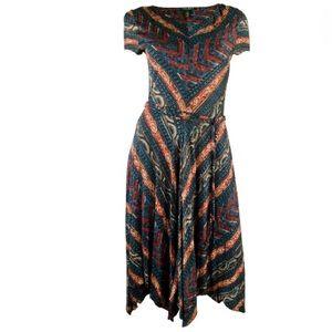 Lauren Ralph Woman Dress $175 Southwestern Plus 3X