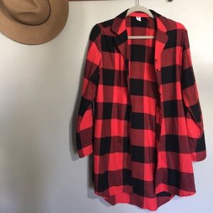 red flannel.