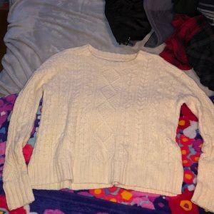 White American Eagle Sweater