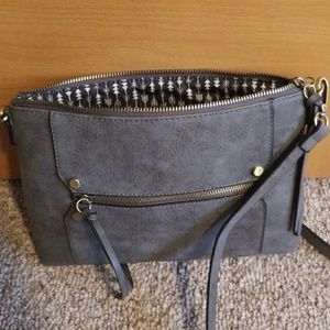 Buckle cross body purse