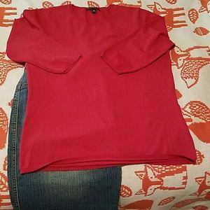 Banana Republic Crimson/Brick color sweater