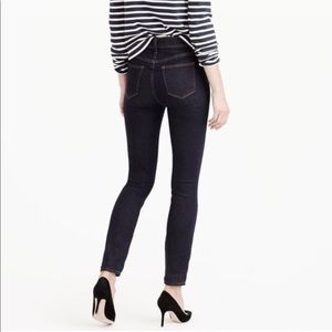 J Crew Lookout High Rise Toothpick Jeans Sz 25