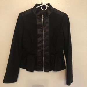 BCBGMaxazria Black Wool Jacket