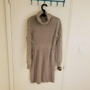 Old Navy Knit Dress Tan