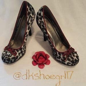 Madden Girl Leopard Print Pumps