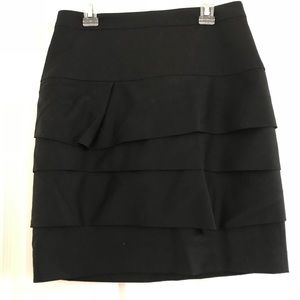 NWT Club Monaco Maui Wool Skirt Sz 0
