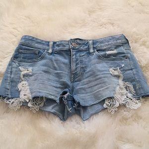 Express Jean Shorts Size 2