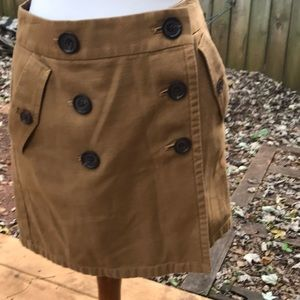 JCrew mini skirt, size 2