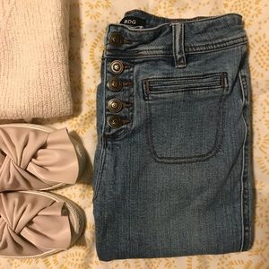 BDG • button-fly skinny jeans