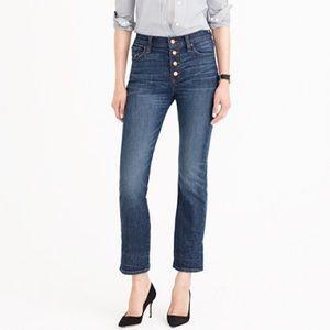 NWT J.Crew Straightaway Jeans