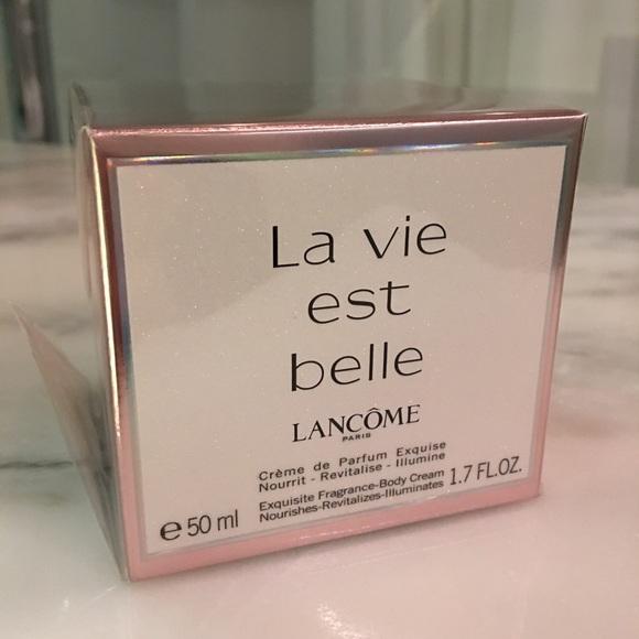 Vie 50ml Poshmark Est Creme Perfume Body Lancome Belle MakeupLa deWroCxB