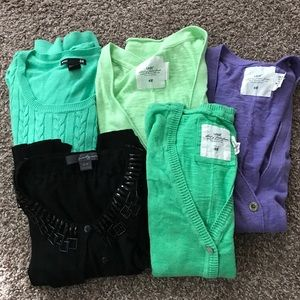 Lot of 5 Sweaters from H&M/F 21