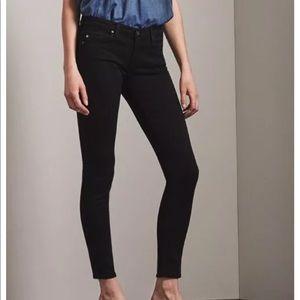 AG Black Skinny Jeans Sz 32 EUC
