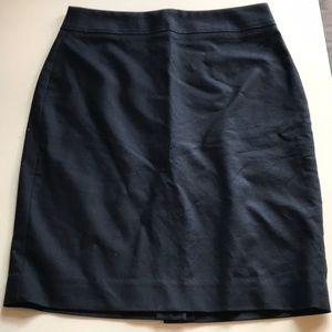 Banana Republic Navy Blue Pencil Skirt sz 0