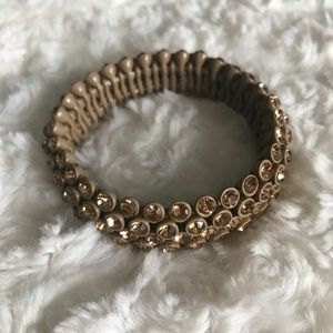 J. Crew Beautiful Jeweled Stretch Bracelet