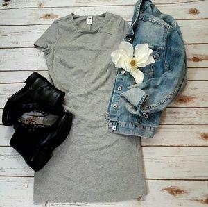 Old navy straight  gray dress