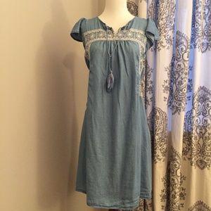 Chambray Dress - NWOT